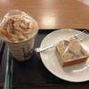 スターバックス・コーヒー - 料理写真:栗のケーキと栗のフラペチーノ