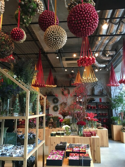 Nicolai Bergmann NOMU - 2015年11月 店内は、クリスマス♪