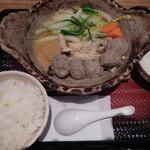 大戸屋 - 季節限定鯵の生姜つみれ鍋定食