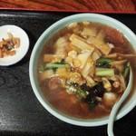 44495315 - 広東麺セット880円の広東麺/27年11月