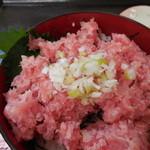 克丸鮮魚 - ネギとろ丼。まったりとしたマグロの味が美味☆