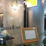 SEAK CAFE - 入り口の看板