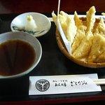 めん工房 むらかみ - ゆばの天ぷら