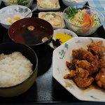 中華料理・ちゃんぽん 華豊 - 唐揚げ定食