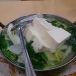 三忠食堂 - 湯豆腐