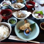 京丹後地産食堂 味工房 海鮮ひさみ - ノドグロのヘシコ定食