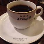 珈琲店 スパニョラ - ブレンドコーヒー400円