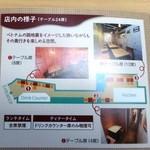 ベトナムダイニング ハノイのホイさん2(ハイ) - うなぎの寝床のような狭い店内