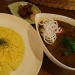 インディ桂木 - 料理写真:野菜とキーマのスープカリー 880円