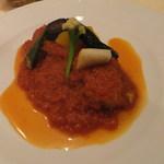 シャンブル・アヴェク・ヴュ - 豚バラ肉のトマト煮