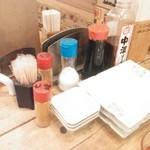 日本鮮魚甲殻類同好会 - 卓上の調味料類