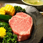 あわじ和牛亭 - 料理写真:フィレステーキ