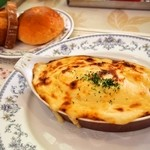 レストラン雪河亭 - 海老グラタン