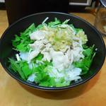 七志 - ...セット「ねぎ豚ごはん(230円)」、シンプルな味付け!