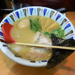 七志 - ...「こくまろ味玉らーめん(800円)」、やっと鹿島田に完成されたラーメン屋が?!?!