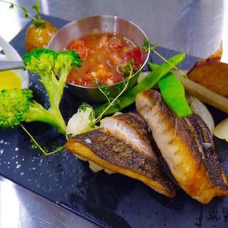 こだわりの食材◎長崎県五島列島直送魚と箱根西麓直送旬野菜