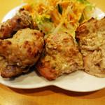 インディアンレストラン アールティ - セサミマライティッカ:マイルドに味付けしたクリーミータレと胡麻をまぶした炭火チキン