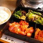 トリ焼き弁当(味噌だれ)