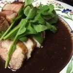 ピュアリー - ロース肉のソテー レフォールソース