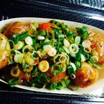 神戸蛸焼 - ネギ塩たこ焼き