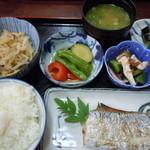 文福 - 焼き魚定食850円♪(太刀魚選択)