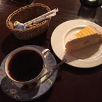 ダンボツー - ケーキセット750円