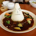 レストランひげじい - 山形村ハヤシ(カレーもあります。)