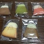 44520970 - ショコラ・抹茶・ストロベリー・紅茶・バニラ(ホワイトチョコ)