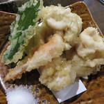 44524630 - 鱈の白子の天ぷら880円。
