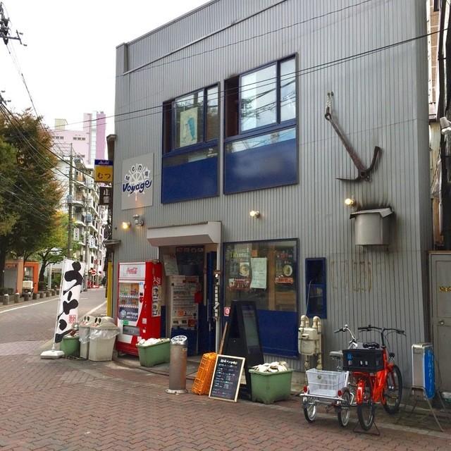 麺場 Voyage - ファザード@2015/11