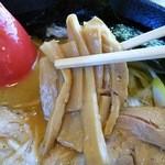 44527630 - 上・淡麗味噌麺¥637のメンマ(H27.11.16撮影)