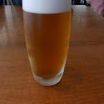 サザンビーチカフェ - ランチのドリンクを+300円でビールに
