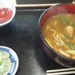 磐田屋 そば店 - 料理写真:カレー南蛮(そば)(650円)