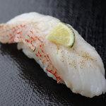 おたる政寿司 - 延縄漁法で捕られた鮮度抜群の『釣りきんき』