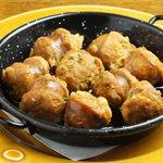 Barta - チョリソーのシードル煮