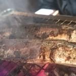 七輪バル たにやん - 旬の秋刀魚