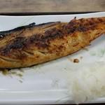 ひもの食堂 - 昆布サバの干物 ¥600-