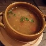 シュクランキッチン - ハリラスープ