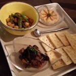 シュクランキッチン - 前菜三種盛り