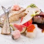 お料理 ひ魯ひ魯 - 宴会コース4,700円の一例(+1,200円で生ビール5種追加の飲み放題も)