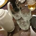 SESSION - テーブルには紹興酒が置いてありました       もちろん飲み放題