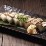 鯖のあぶり棒寿司