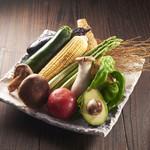焼き野菜  単品全品