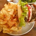 44539512 - ハンバーガー横置き式