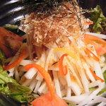 ぞろ目家 - しゃっきり大根サラダ555円もちろん有機野菜です!