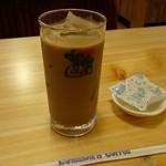 コメダ珈琲店 - アイスオーレ。