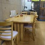 八尾蒲鉾 - ☆店内はテーブル席とカウンターがあります☆