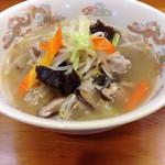 京定 - 料理写真:タンメン