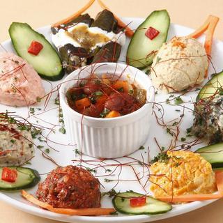 南トルコの家庭料理を存分にお楽しみ下さい