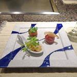 44550088 - シャンパーニュで冷菜3種